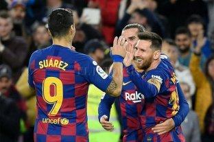 """Messi: """"Ser el máximo goleador de la Liga de España es especial"""""""