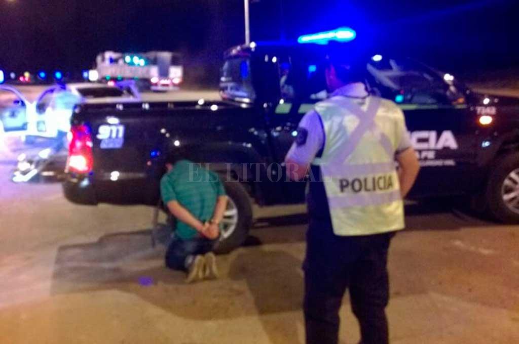 Ferreira Vera fue detenido en un control de la policía de Seguridad Vial, sobre la autovía 19, a la altura de Franck. Trató de coimear a los policías. <strong>Foto:</strong> Archivo El Litoral