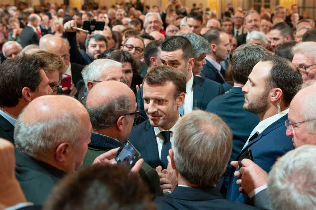 <strong>Foto:</strong> Twitter Macron