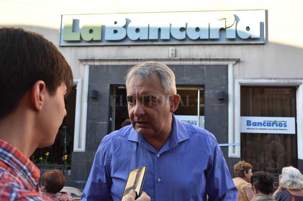 Girardi destacó la inversión de fondos en beneficio de los trabajadores bancarios en medio de un contexto económico complejo. <strong>Foto:</strong> Manuel Alberto Fabatía
