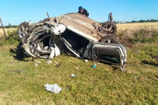 Tres muertos tras un choque en el sur de Santa Fe