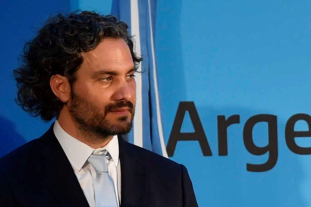 Santiago Cafiero, Jefe de Gabinete <strong>Foto:</strong> Gentileza