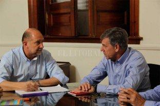 El gobernador Perotti recibió al intendente Jatón