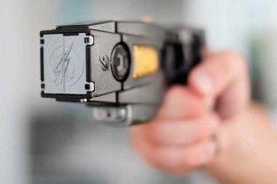 En la provincia se usarán pistolas Taser