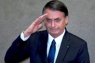 Bolsonaro anunció que no dará más entrevistas
