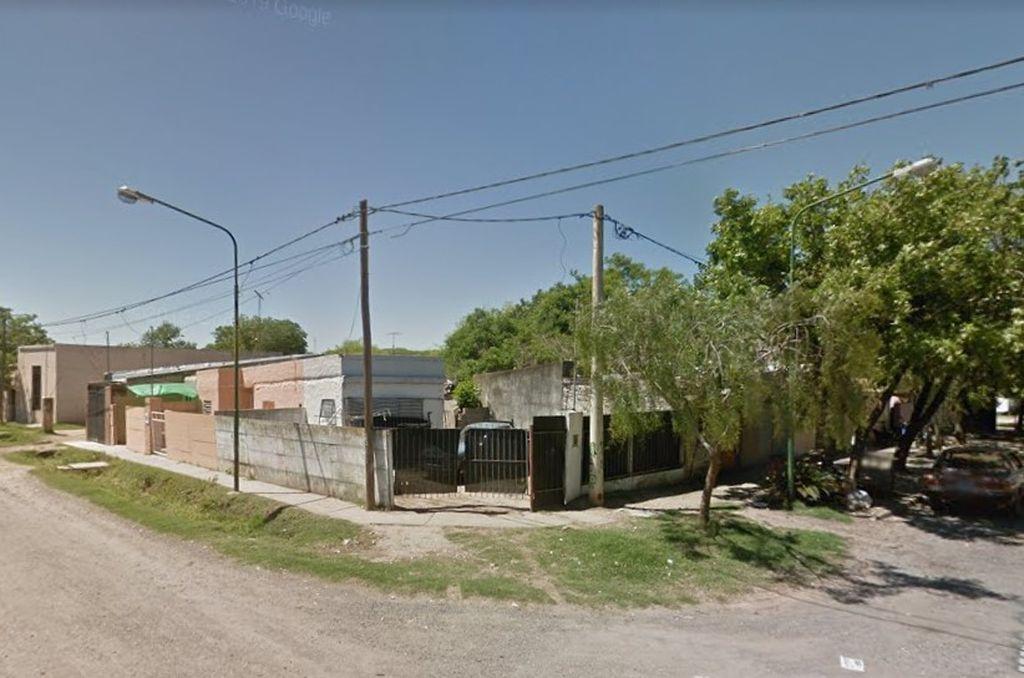 La zona del suceso. <strong>Foto:</strong> Google Maps