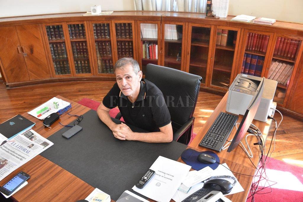 """Además de las múltiples áreas nucleadas en su cartera, Borgonovo asume el rol de """"ministro político"""", que deberá construir consensos con una Legislatura adversa. <strong>Foto:</strong> Flavio Raina"""