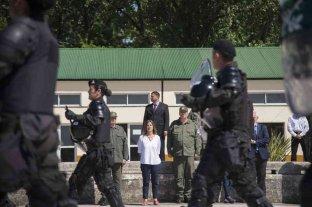 Frederic anunció cambios en la cúpula de la Gendarmería
