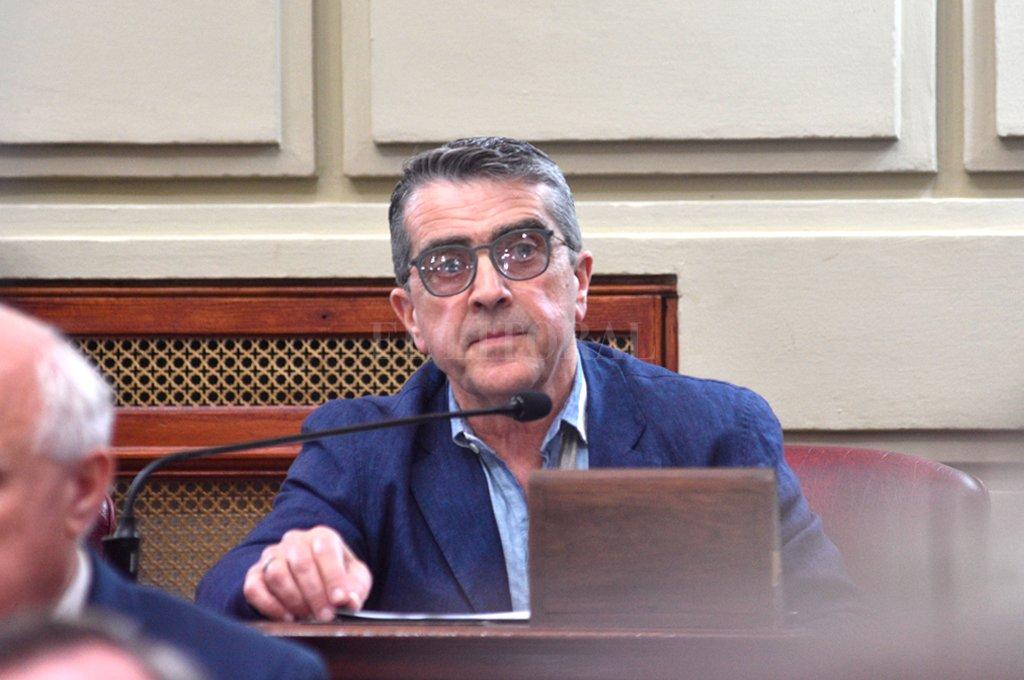 """""""Creo que no se tomaban las medidas que tienen que tomarse"""", comparó el jefe del bloque del PJ respecto de la gestión anterior. <strong>Foto:</strong> Luis Cetraro"""