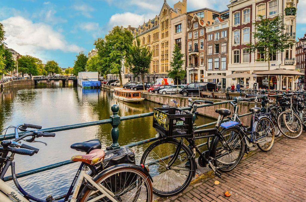 Amsterdam, capital de los Países Bajos Crédito: Gentileza