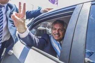 "Alberto Fernández: ""Cumplimos con lo que dijimos que íbamos a hacer"""