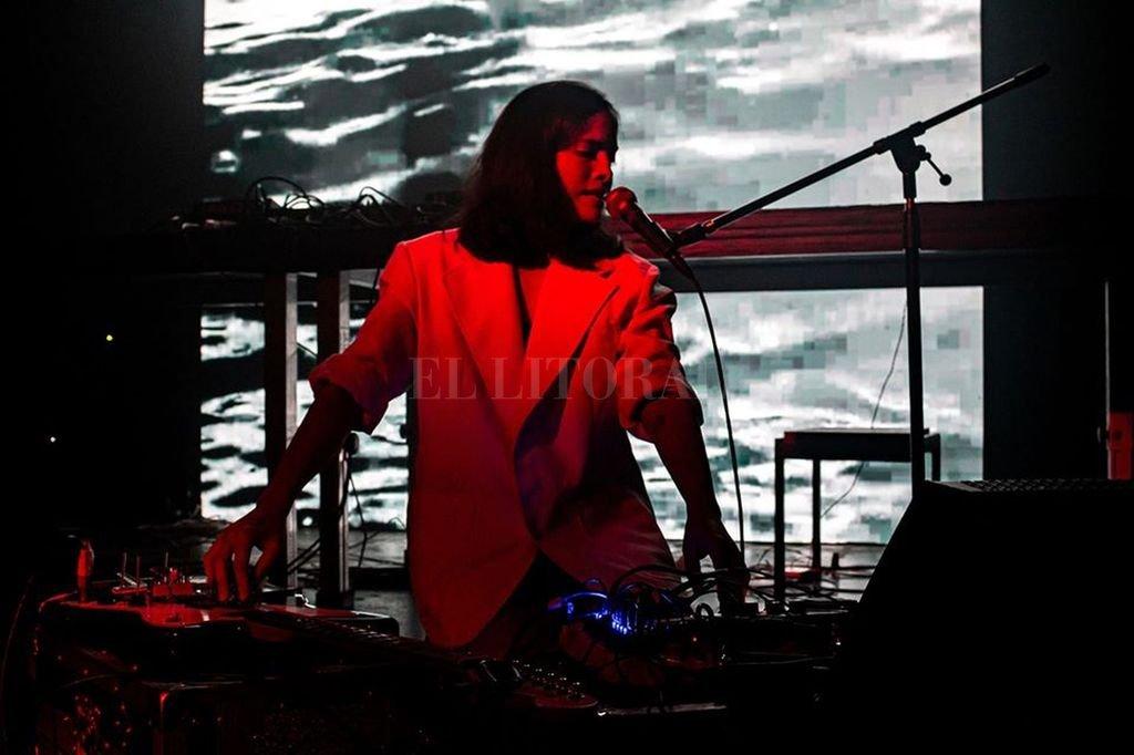 Ale Hop (Alejandra Cárdenas), una de las artistas participantes. <strong>Foto:</strong> Gentileza Mutek Argentina