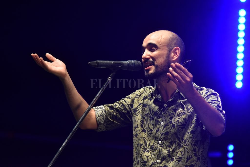 Abel en la edición de enero pasado; este año volverá a encontrarse con el público, con material nuevo. <br /> <strong>Foto:</strong> Manuel Fabatía