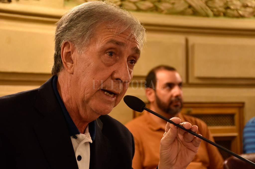 """Joaquín Gramajo (PJ-9 de Julio) sostuvo que su iniciativa """"no fue entendida"""" por los dirigentes sindicales. <strong>Foto:</strong> Luis Cetraro"""