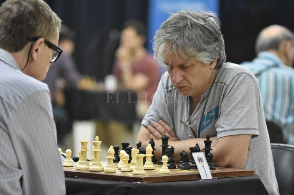 Roberto Servat, ganador del Campeonato Mayor Santafesino. <strong>Foto:</strong> Manuel Alberto Fabatía
