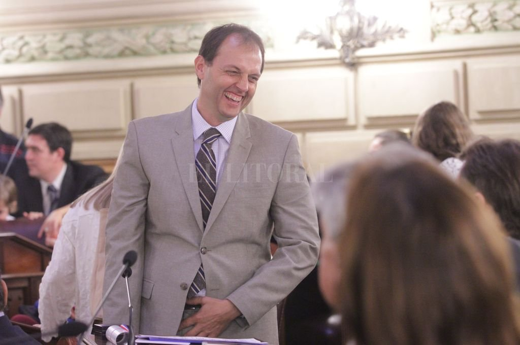 Hugo Rasetto, senador radical electo por Cambiemos (Iriondo). <strong>Foto:</strong> Mauricio Garín