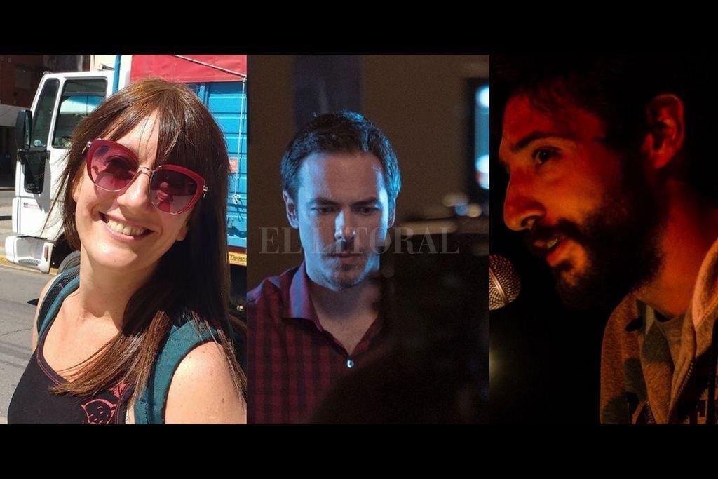 Vigo, Ruatta y Bonatti, tres protagonistas de la escena teatral santafesina. <strong>Foto:</strong> Gentileza de los artistas