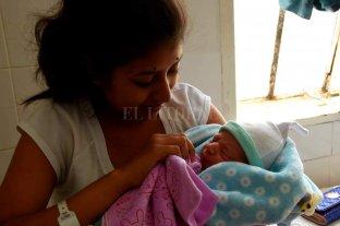 Valentín, el primer bebé nacido en el Cullen del 2020