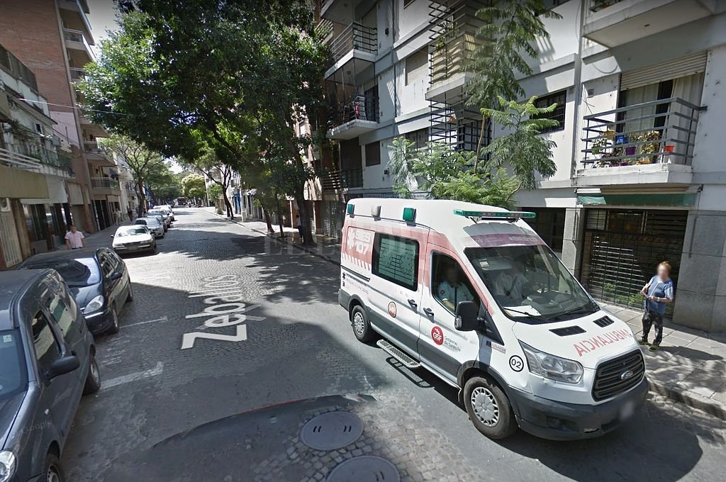 Zeballos al 900. <strong>Foto:</strong> Captura digital - Google Maps Streetview