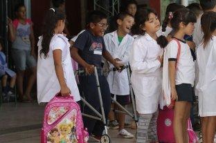 """""""Todos los chicos en la escuela"""": acuerdo entre provincia y Nación"""