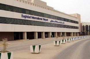 Bombardearon el aeropuerto Internacional de Bagdad