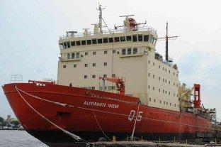 Alberto Fernández encabeza el inicio de la campaña antártica del rompehielos Irízar
