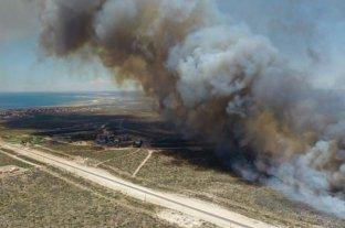 Tensión por incendios en Las Grutas