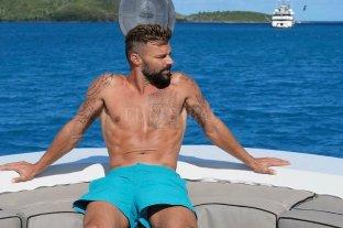 Ricky Martín publicó unas fotos de sus vacaciones y estallaron las redes