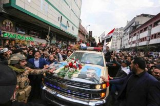 Comenzó el funeral por el general iraní asesinado por EEUU