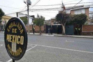 Salieron de Bolivia los españoles implicados en el incidente en la embajada mexicana