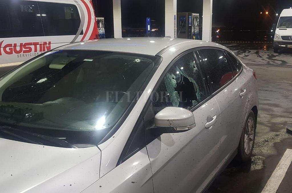El 9 de septiembre el comisario Valdés protagonizó una balacera en la autopista Buenos Aires-Rosario, en la que resultó herido. Crédito: Archivo El Litoral