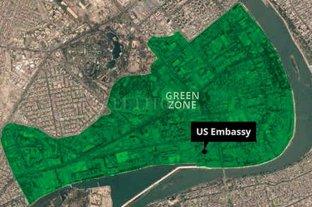 Atacaron la embajada de EEUU en Bagdad y una base con tropas estadounidenses