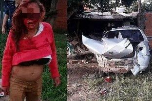 Embarazada robó un remis y mató a un motociclista que atropelló en su huída