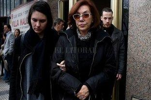 Nora Cárpena recibió el alta médica