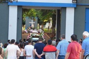 Despidieron los restos de la diputada Stella Maris Leverberg