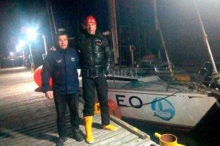 Inédita travesía: en un pequeño velero, un ex combatiente zarpa a la Antártida