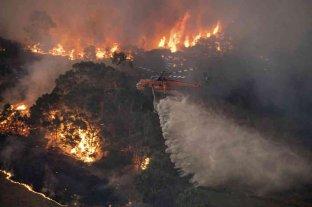 El humo de los incendios en Australia podría perjudicar a los glaciares