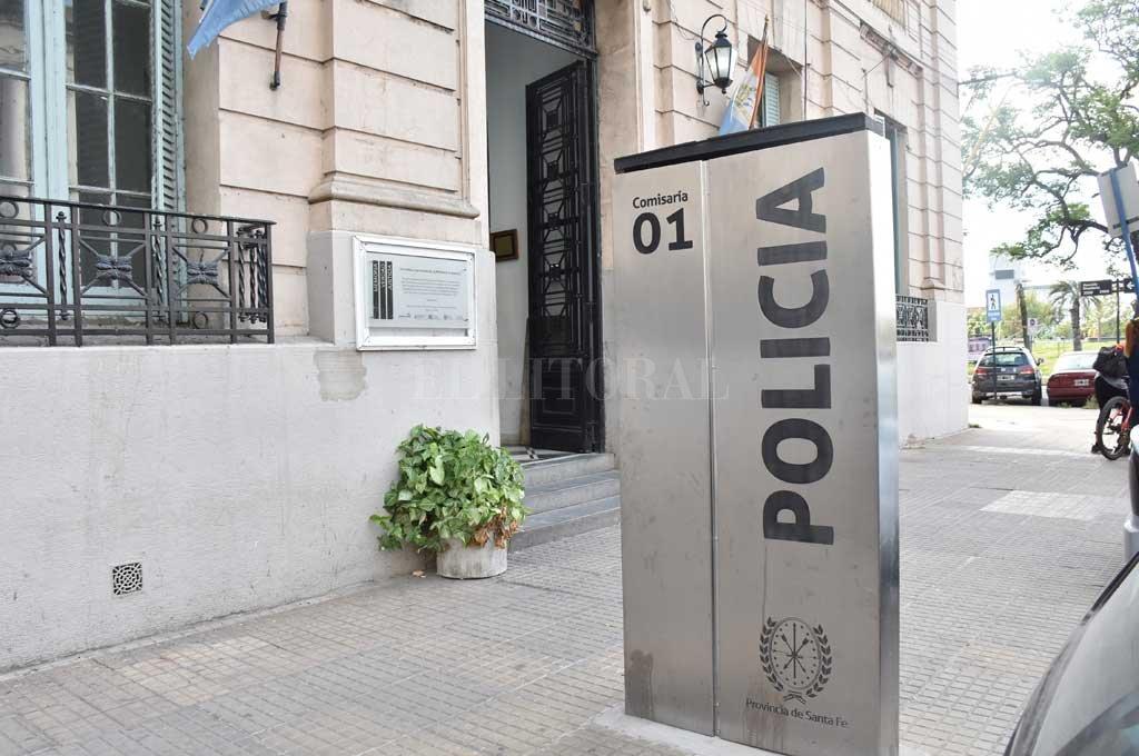 Ambos adolescentes fueron trasladados a la Seccional 1era, luego devueltos a sus familiares <strong>Foto:</strong> Archivo El Litoral / Flavio Raina