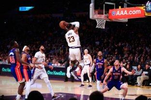 Los Lakers ganaron y siguen como líderes de su conferencia