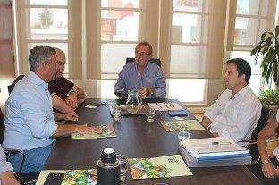Costamagna recibió a la cúpula de Agricultores Federados Argentinos