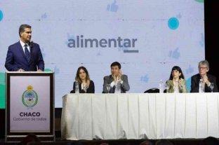 """El gobierno lanzó en Chaco el plan """"Argentina contra el Hambre"""""""