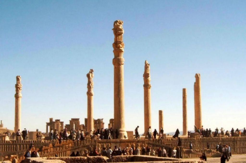 Persépolis, capital del imperio Arqueménida.   <strong>Foto:</strong> Gentileza