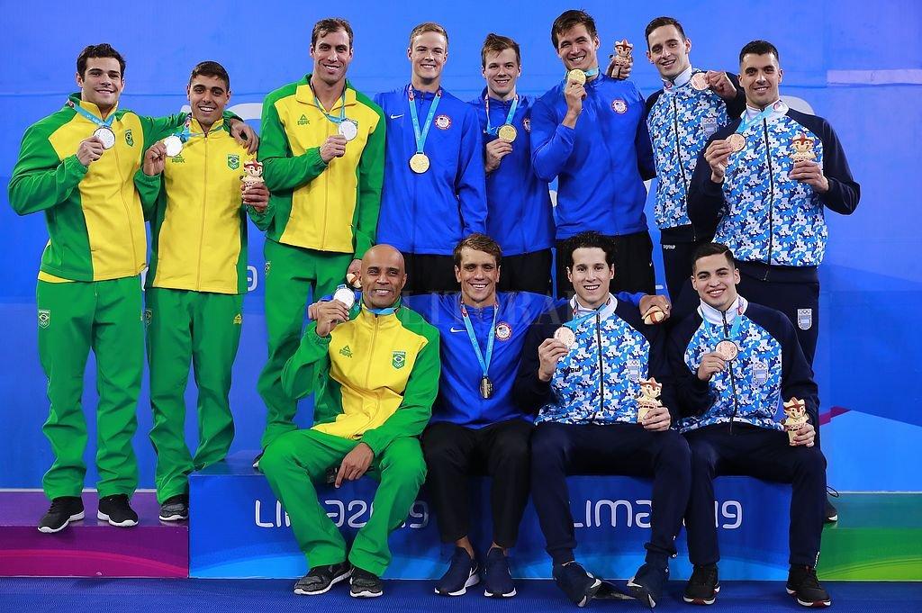 Gabriel Morelli. Fue uno de los 100 medallistas de Lima 2019 y el seleccionado que quebró todas las expectativas en Perú. <strong>Foto:</strong> Lima 2019