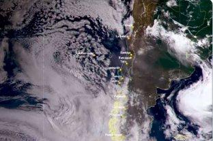 El humo de los incendios en Australia llegó a Chile