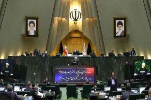 El Parlamento iraní declaró organizaciones terroristas al Pentágono y al Ejército de EEUU