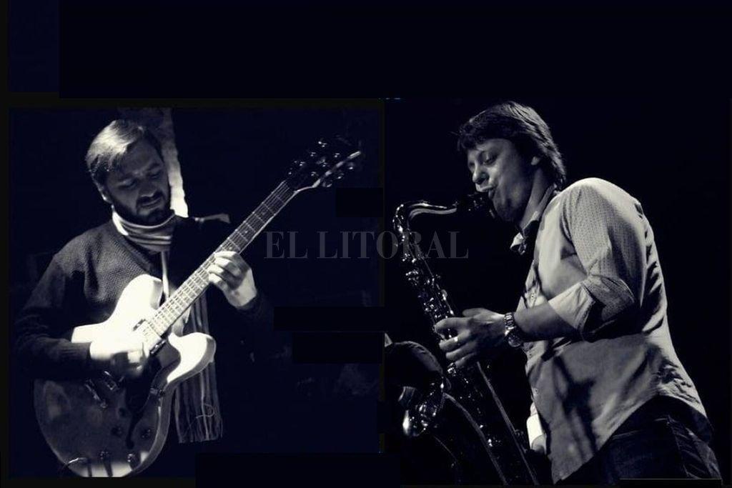 Francisco Cecchini y Gera Aznar presentarán este jueves un imperdible repertorio de jazz. <strong>Foto:</strong> Gentileza Magia Negra Producciones