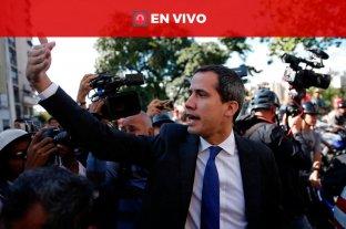 Venezuela: Guaidó intenta ingresar a la Asamblea Nacional