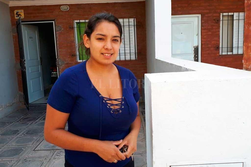 Abigail es una de las vecinas que sufrió los embates de la delincuencia <strong>Foto:</strong> Danilo Chiapello