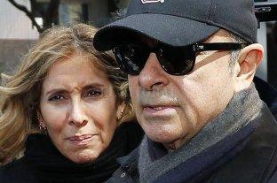 Japón ordena detener a la mujer de Carlos Ghosn