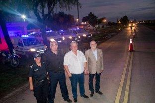 Se inauguró el destacamento de la Guardia Urbana en Timbúes
